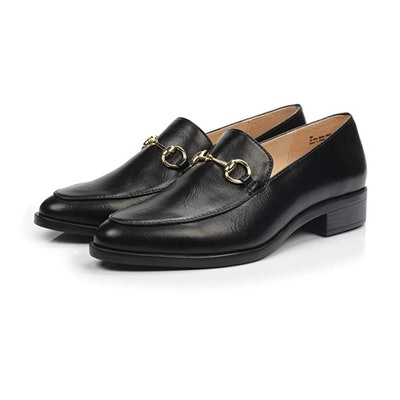 DUNION Chain Decorated Penny Loafers
