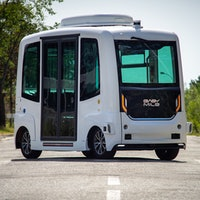 Self-driving buses to appear on public roads for the first time