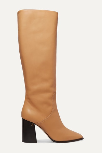 Brionne 85 Leather Knee Boots