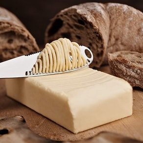 Stainless Steel Butter Knife - Multi-function with Serrated Edge