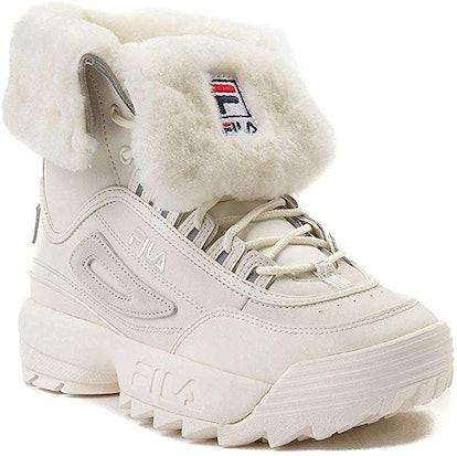 Fila Disruptor Shearling Boots
