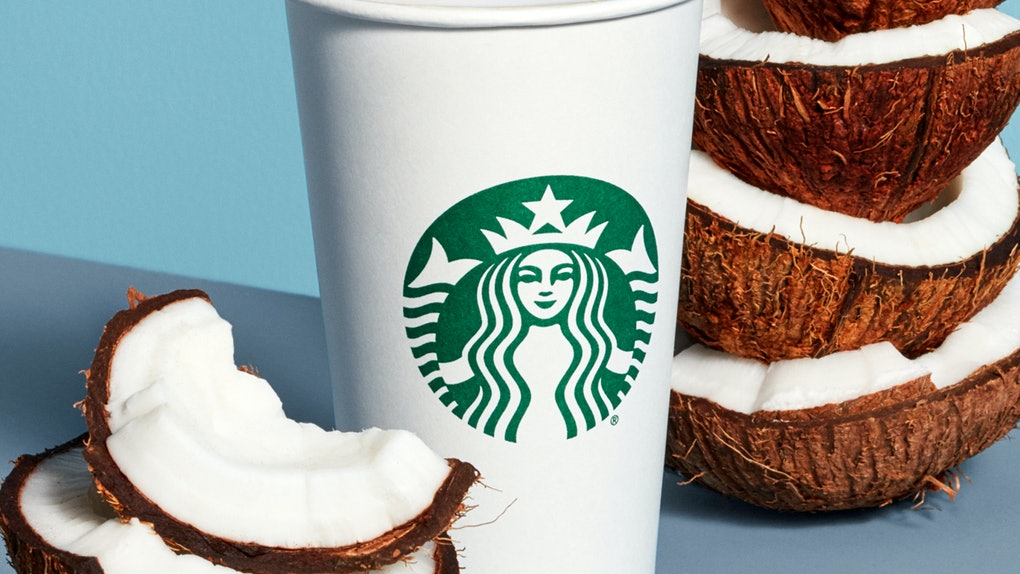 The caffeine in Starbucks' new Coconutmilk Latte will energize you
