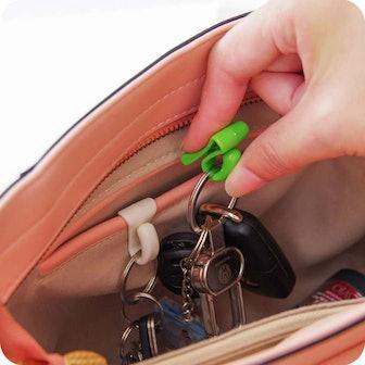 Assorted Color Handbag Key Organizer Key Clips