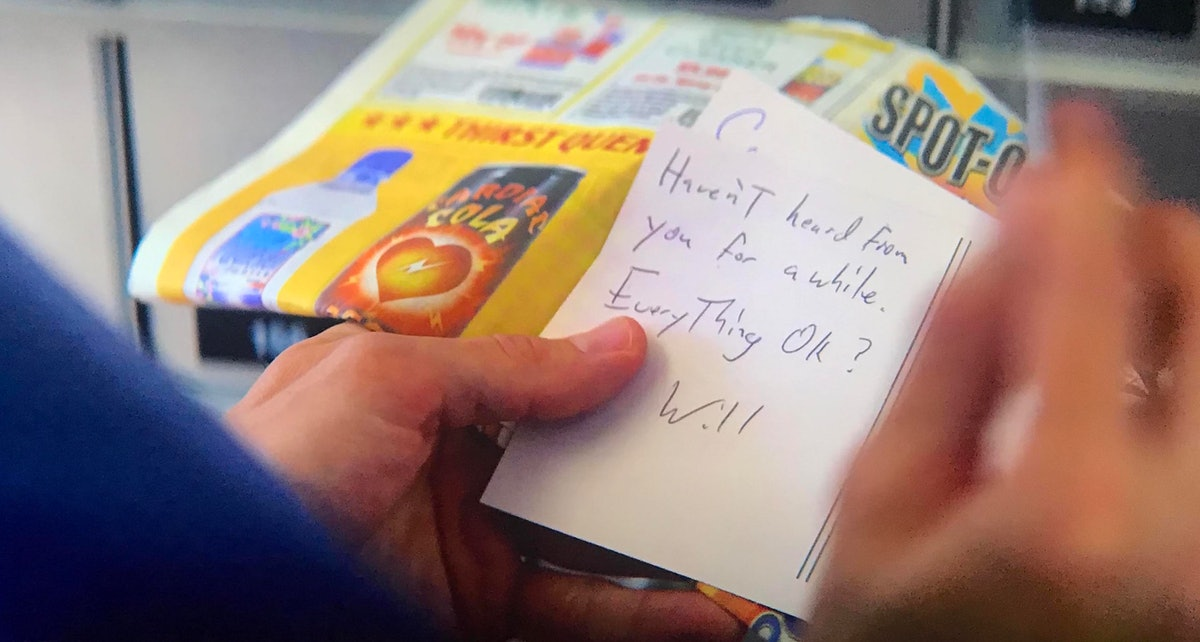 Joe got a note from Will in the 'You' Season 2 finale.