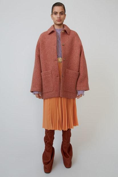 Oversized Short Coat