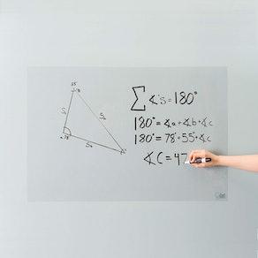 Think Board Clear Self-Adhesive Whiteboard Wall Sticker