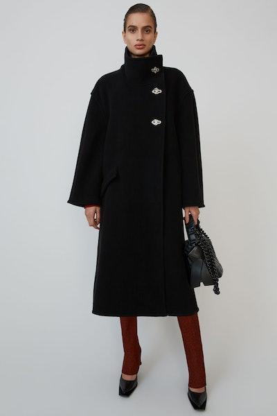 A-Line Wrap Coat