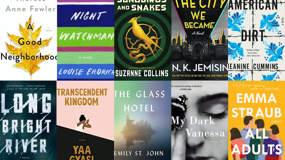 Covers of the 10 most anticipated books of 2020, according to Goodreads.