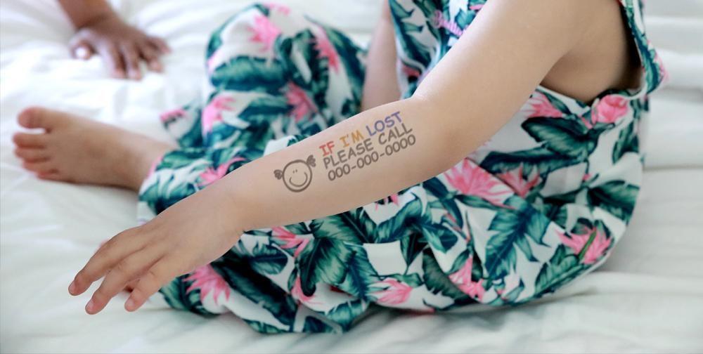 Prinker child tattoo