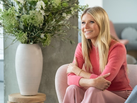 Gwyneth Paltrow in Netflix's 'The goop lab'