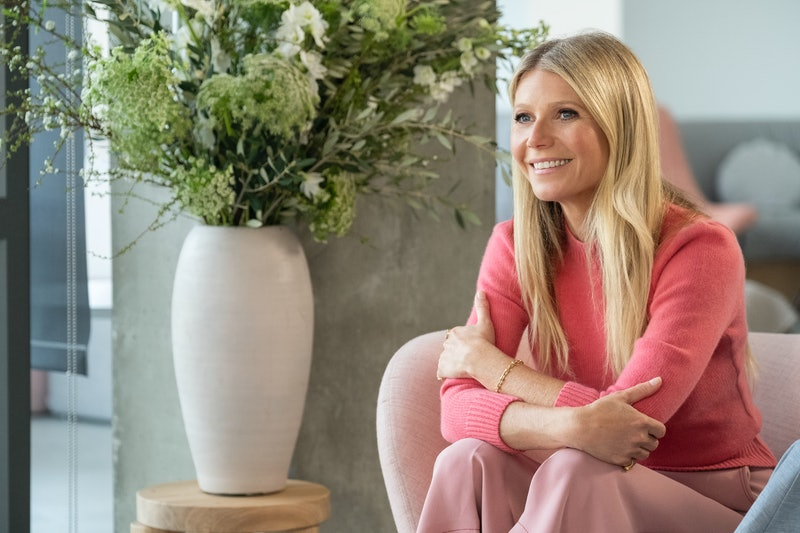"""Gwyneth Paltrow in a still for her new Netflix series, """"The goop Lab."""""""