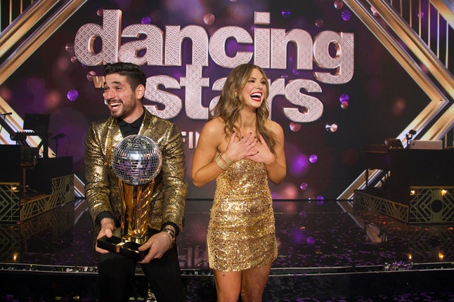Hannah Brown won Dancing With the Stars.