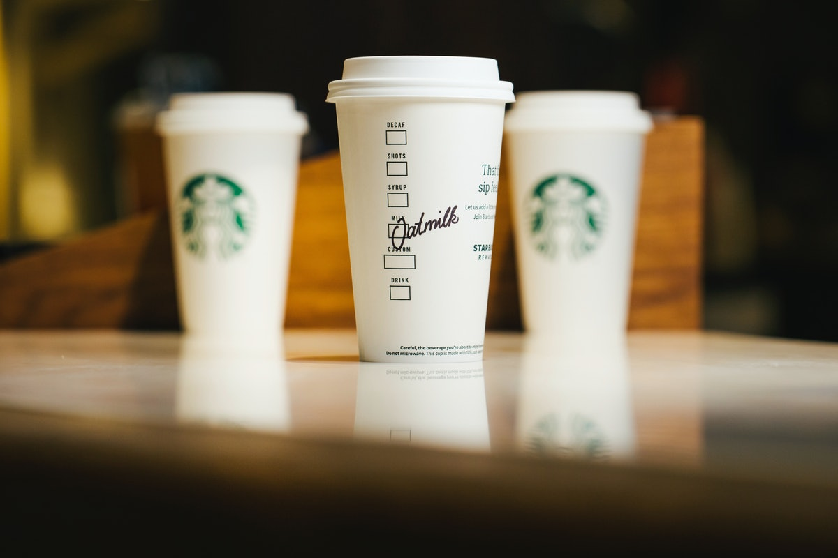 Starbucks' Almondmilk Latte will be available permanently alongside an oat milk and coconut milk-based drink.