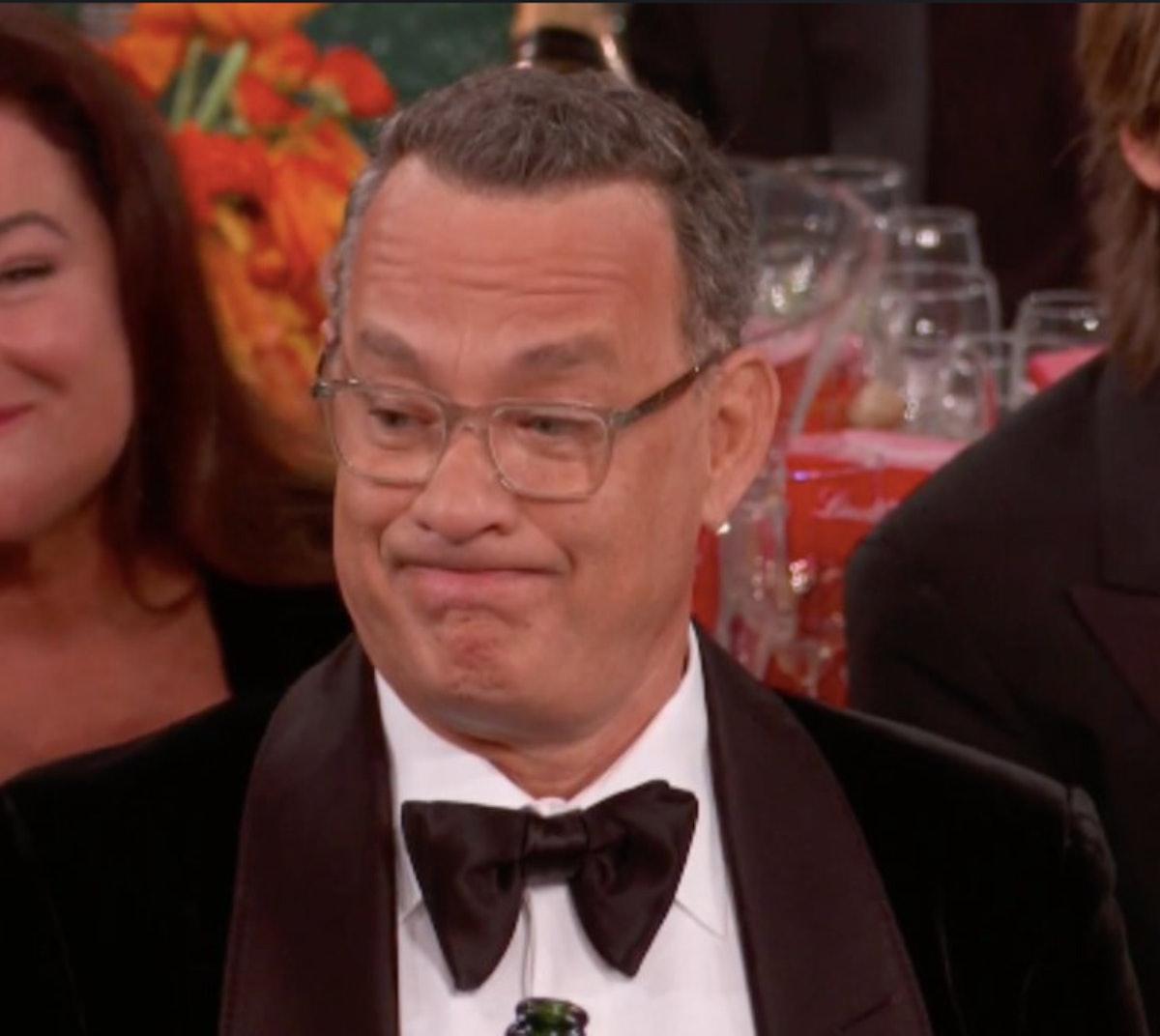 Tom Hanks at the 2020 Golden Globes