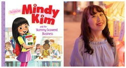 Mindy Kim and the Yummy Seafood Business; author Lyla Lee