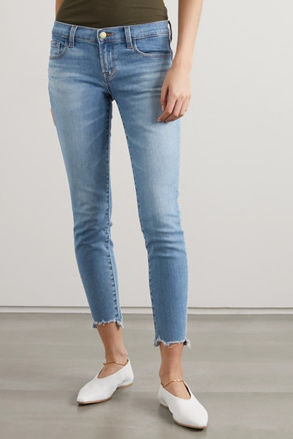 Cropped Low-Rise Jeans