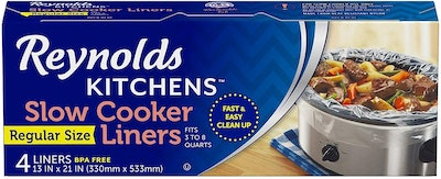 Reynolds Kitchens Premium Slow Cooker Liners (48-Pack)