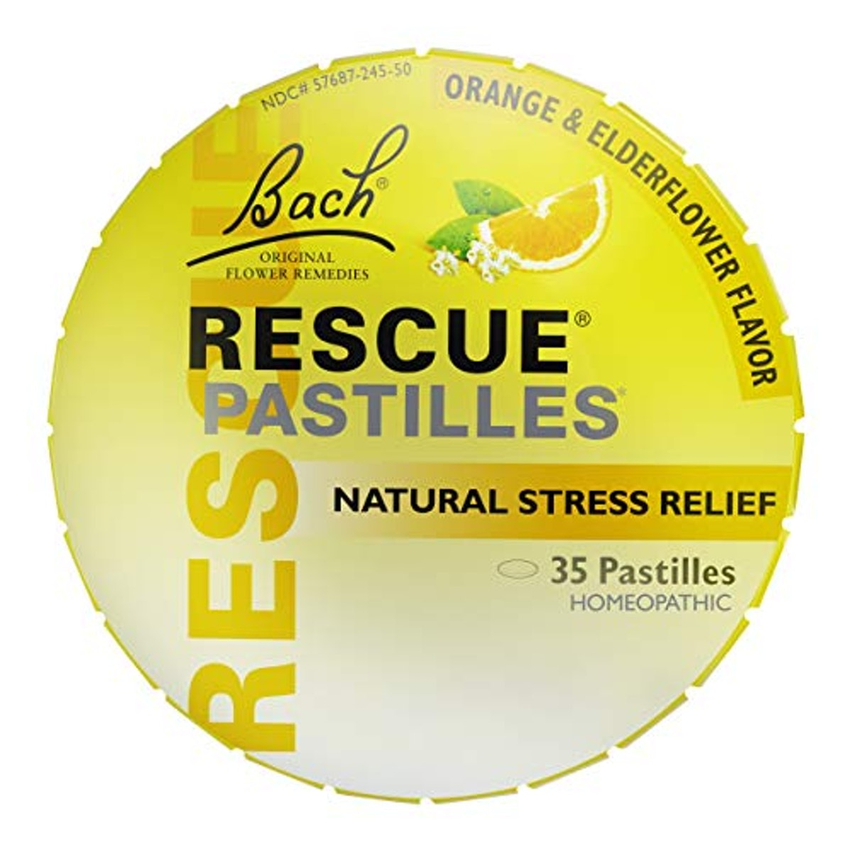 Nelson Bach USA Ltd RESCUE PASTILLES, Homeopathic Stress Relief