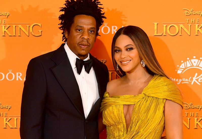 Beyonce & Jay-Z Brought Their Own Champagne To The Golden Globes & Yes, They Shared