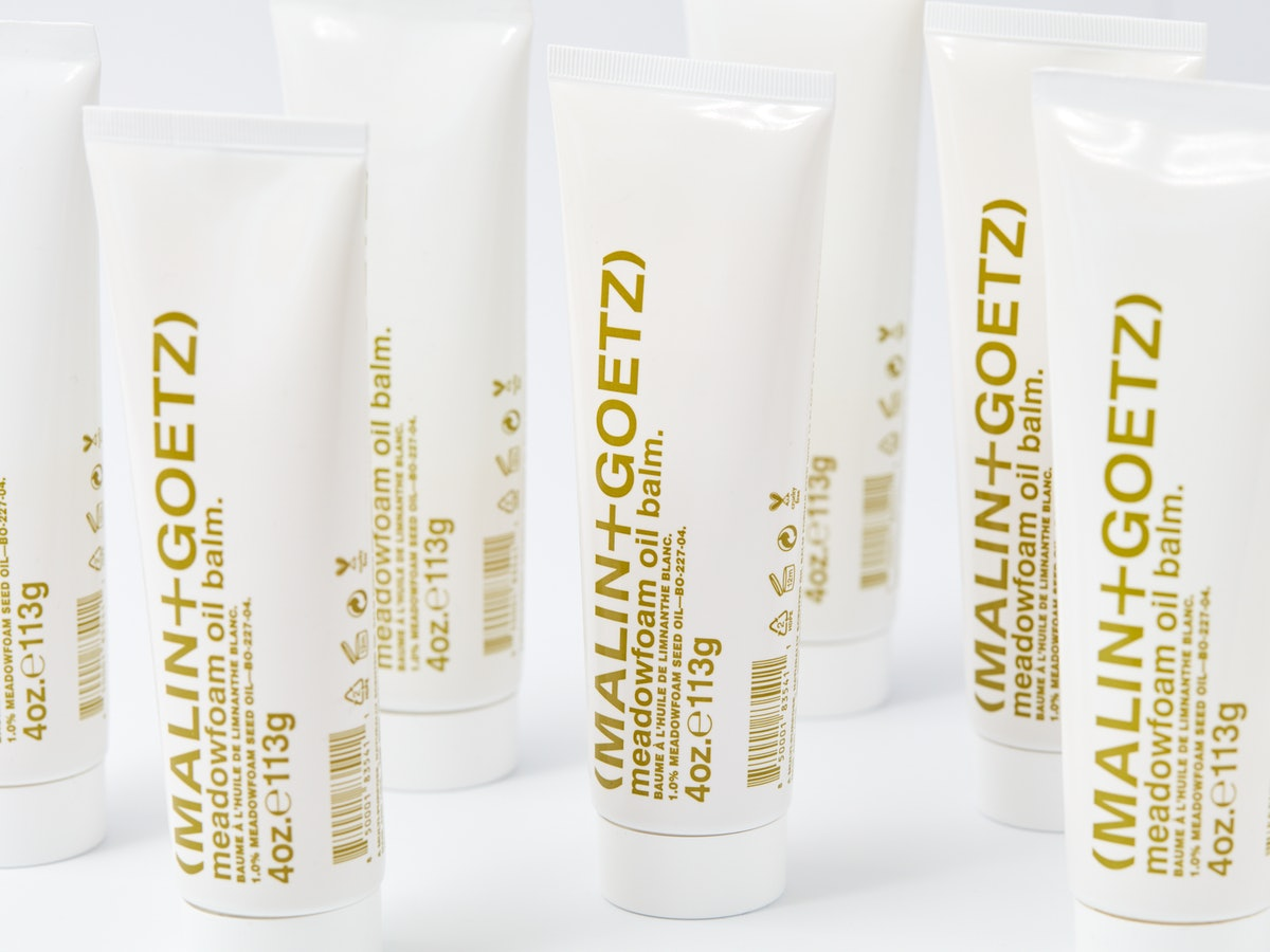 MALIN+GOETZ's new Meadowfoam Oil Balm for skin, hair, and face