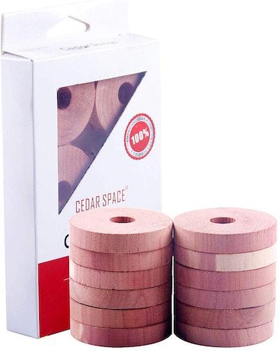 Cedar Space Cedar Rings (12-Pack)