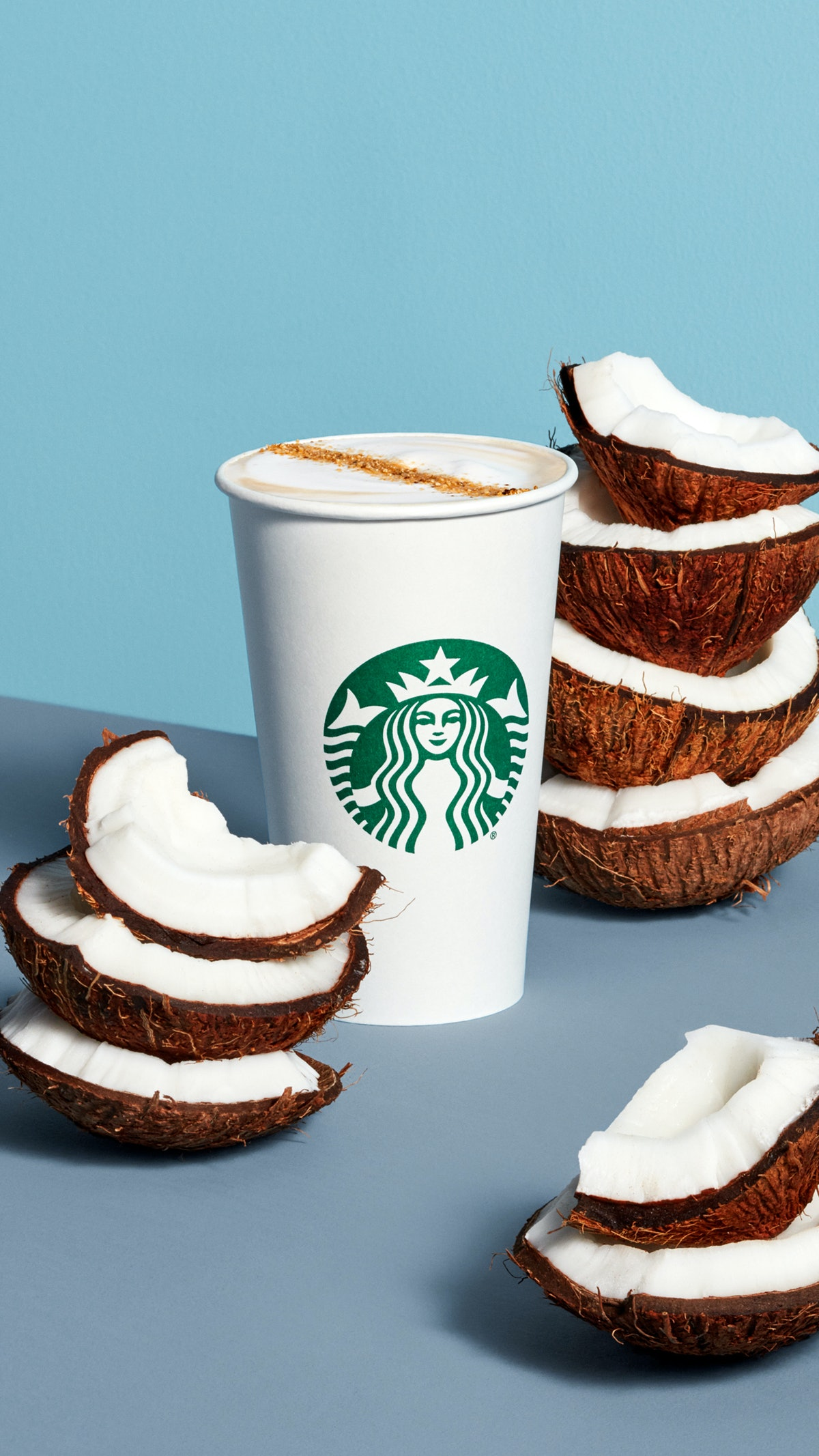Starbucks' Coconutmilk Latte is a new dairy-free option.