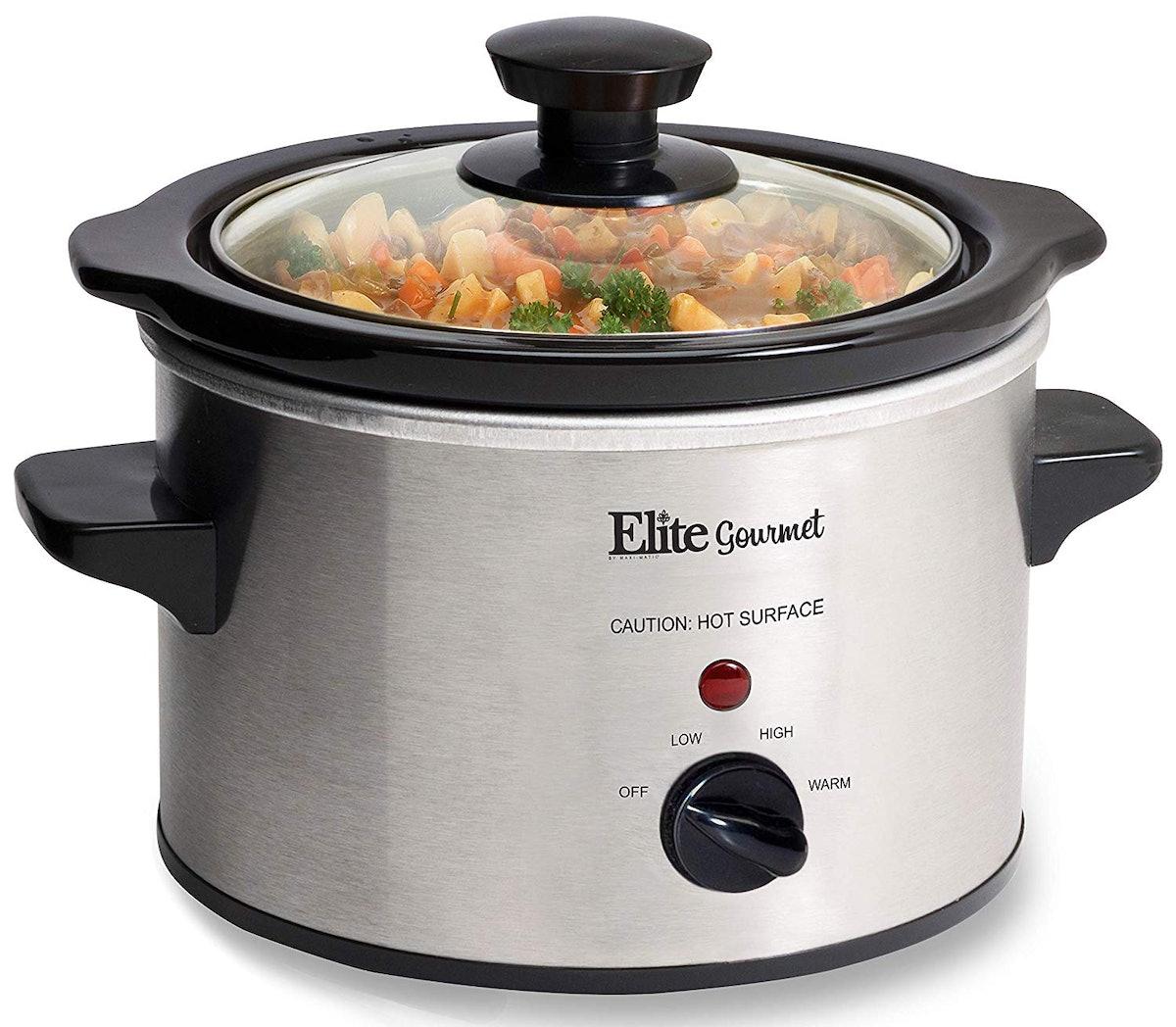 Elite Gourmet MST-250XS Electric Slow Cooker