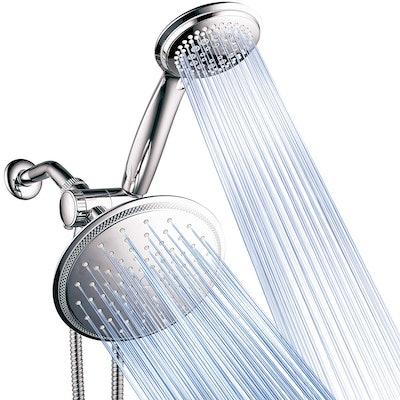 DreamSpa Rainfall Shower Head & Handheld Shower Combo