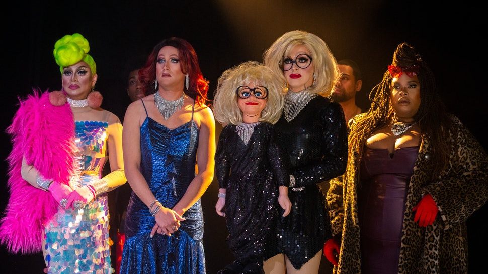 RuPaul's  AJ and the Queen features a number of drag queen cameos.