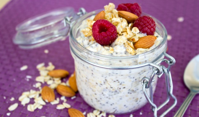 Overnight oat recipe.