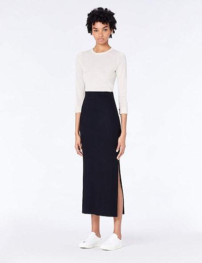 Amazon Brand - Meraki Women's Rib Maxi Skirt