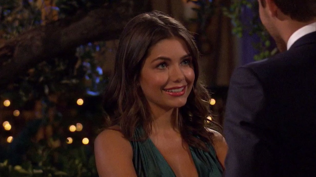 Hannah Ann won Peter's first impression rose on 'The Bachelor'