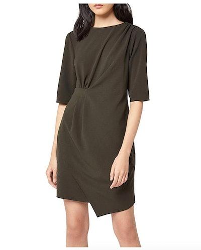 find. Women's Asymmetric Drape Hem Shift Dress