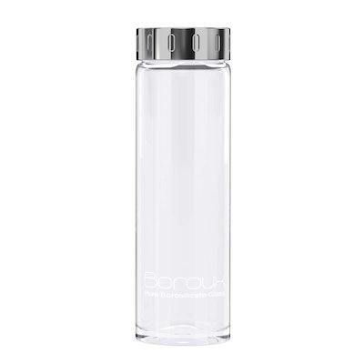 Boroux Original Glass Water Bottle (16.9 Oz)