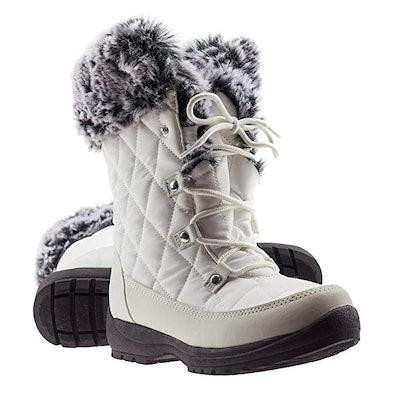 ArcticShield Women's Anna Memory Foam Winter Snow Boots