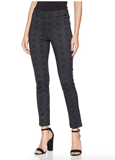 Calvin Klein Women's Cropped Leg Pull On Pants