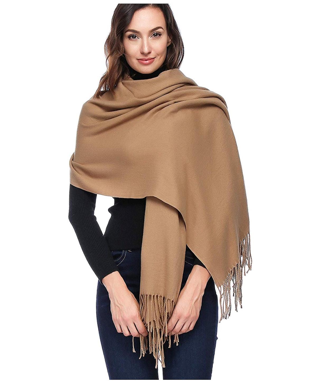 HOYAYO Cashmere Wool Shawl Wraps