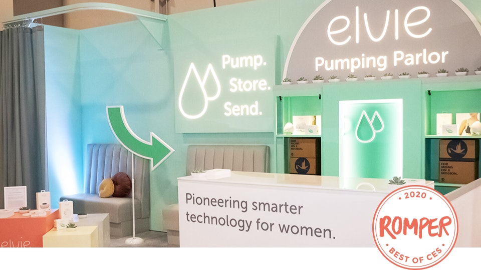 Elvie and Milk Stork have joined forces at CES to support breastfeeding moms with a pumping lounge, milk concierge, and more.