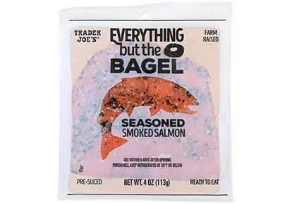 Use this Trader Joe's smoked salmon for a big flavor bagel sandwich.