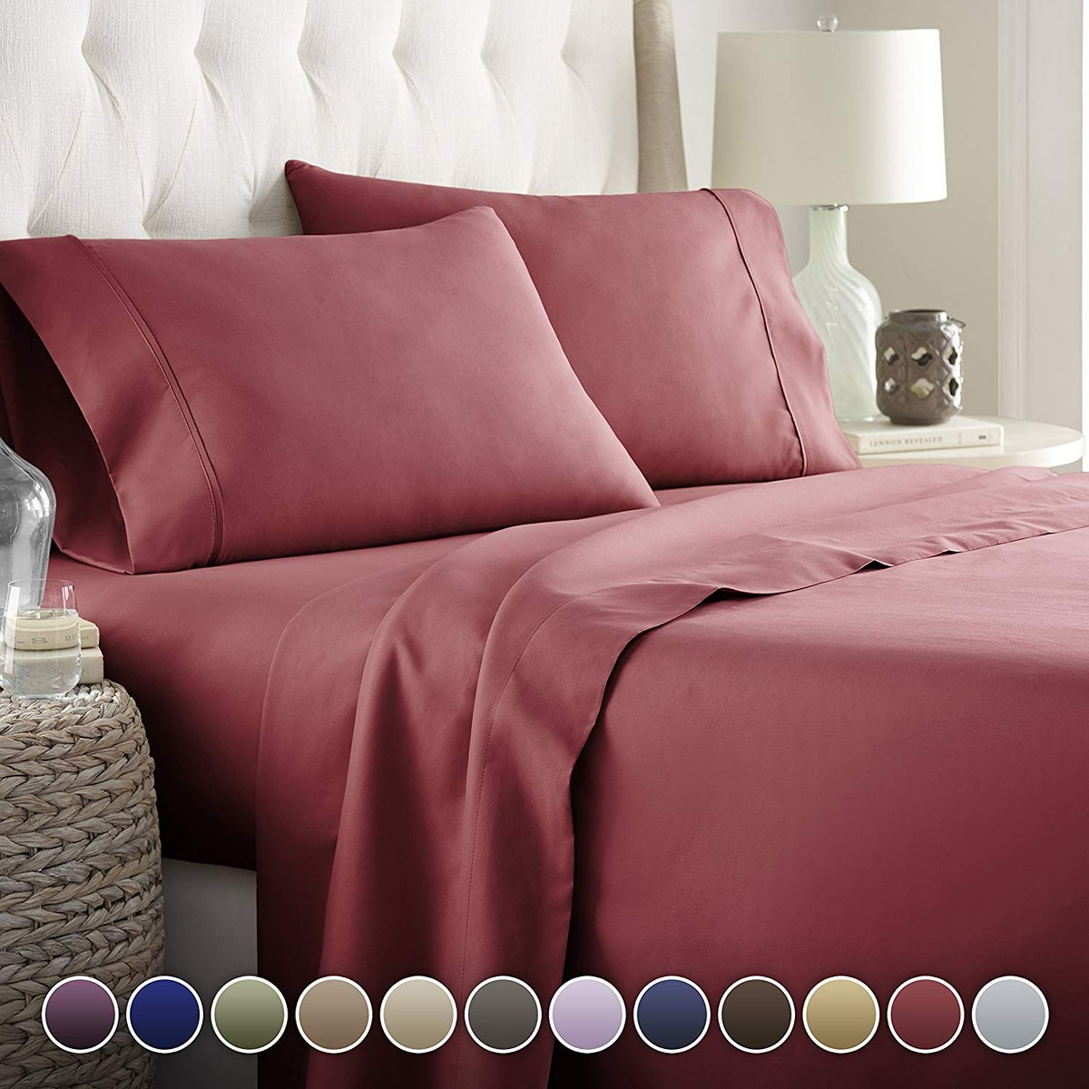 HC COLLECTION Hotel Luxury Bed Sheets Set