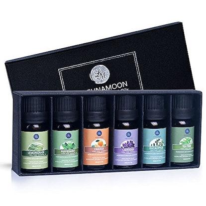 Lagunamoon Essential Oils Top 6 Gift Set