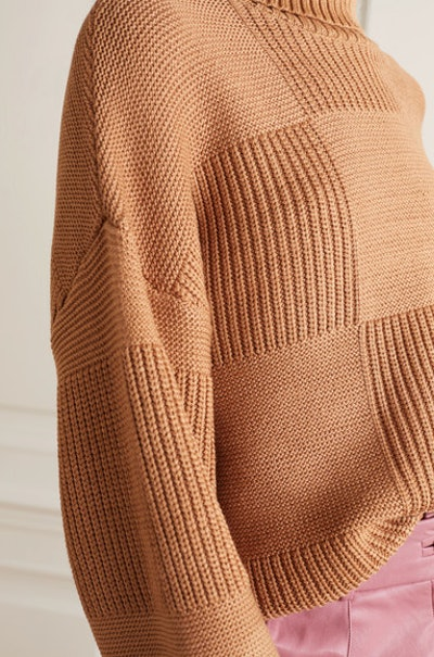 Benny ribbed-knit turtleneck sweater