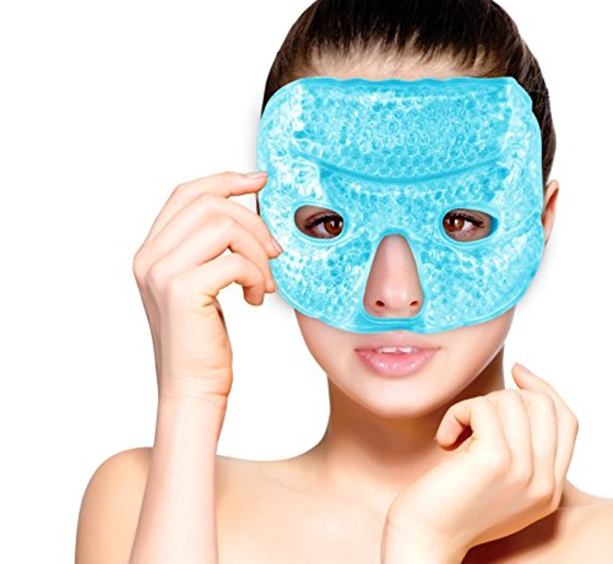 FOMI Hot and Cold Therapy Gel Bead Facial Eye Mask