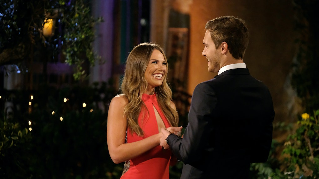 Hannah Brown and Peter Weber on 'The Bachelor'