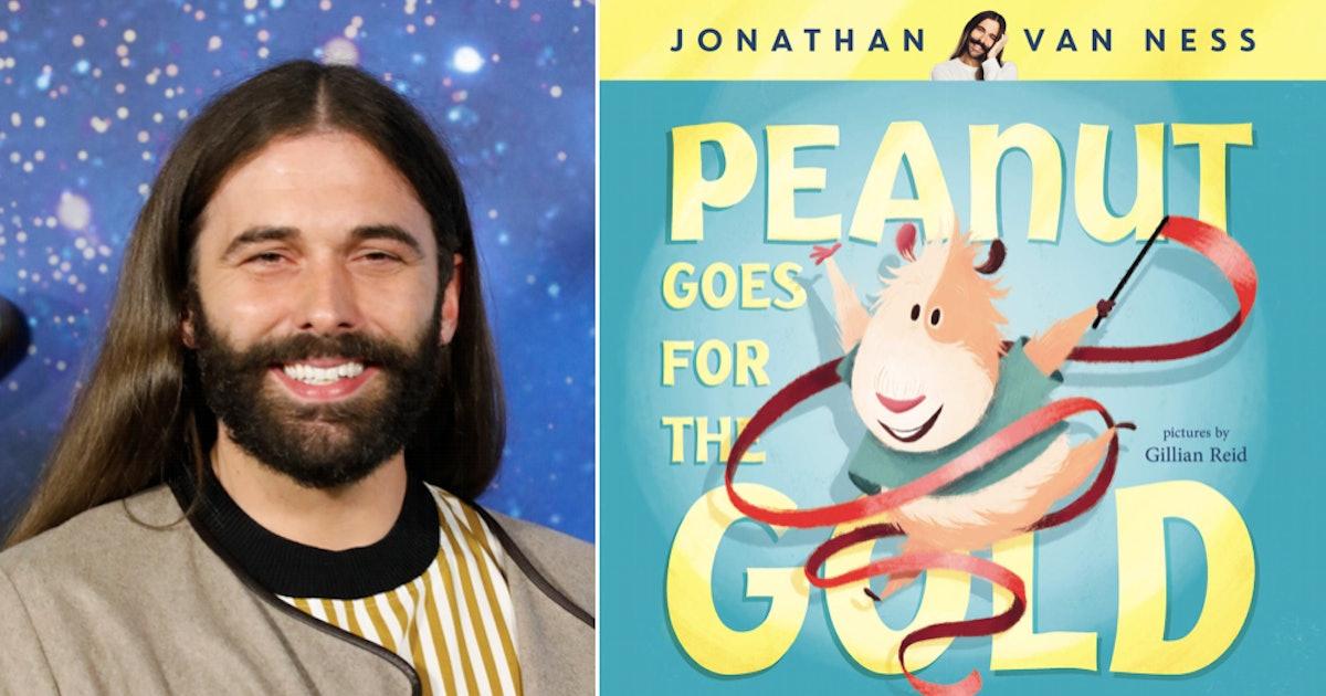 Jonathan Van Ness Pens Heartfelt Children's Book About A Nonbinary Guinea Pig