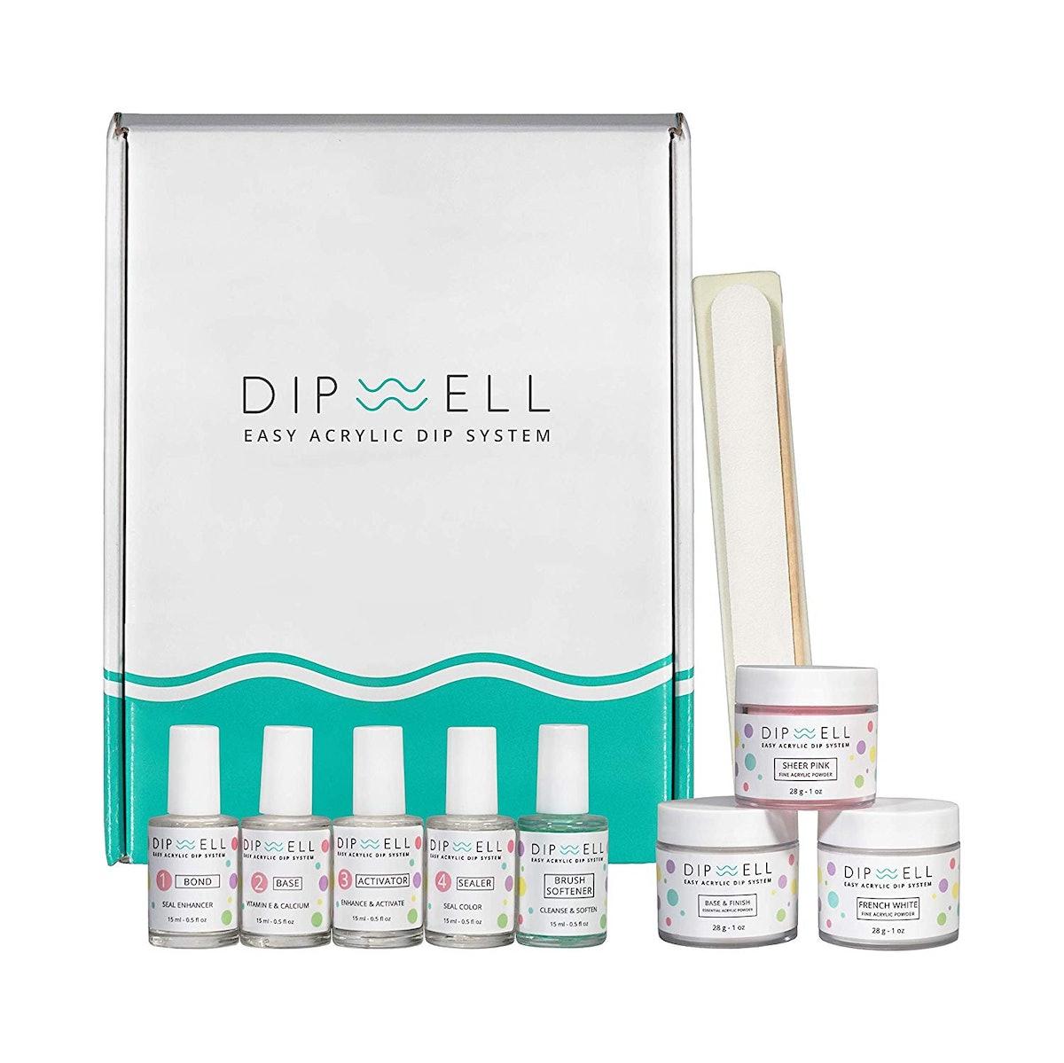 DipWell Dipping Nail Starter Kit