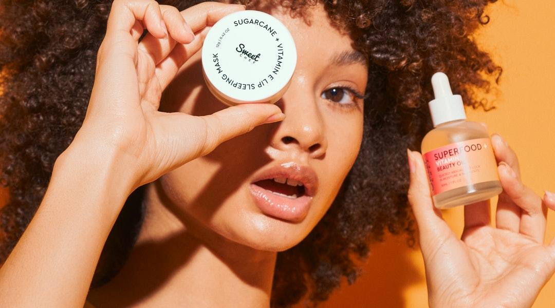 Sweet Chef's New Sugarcane + Vitamin E Lip Sleeping Mask and Superfood + Vitamins Beauty Oil Are Two Additions To Its Affordable Lineup