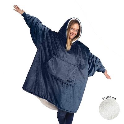 The Comfy The Original Oversized Sherpa Blanket Sweatshirt