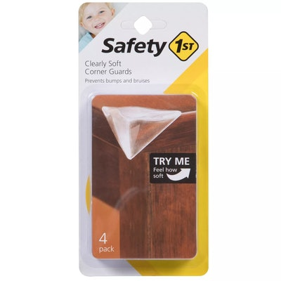 Safety 1st Clearly Soft Corner Guards - 4pk
