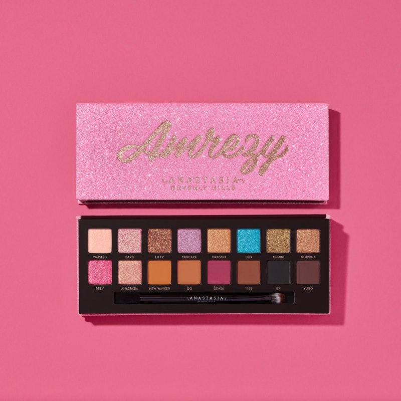 Anastasia Beverly Hills' new Amrezy Palette features 16 never before seen shades.